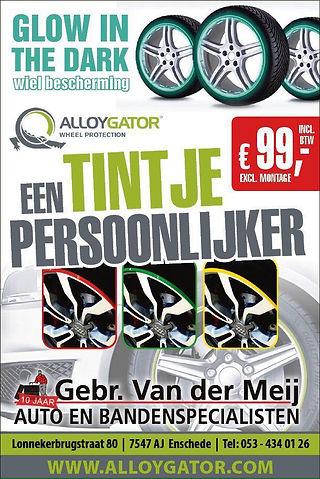 Alloygater velgrandbescherming bij Gebr.van der meij - Enschede!