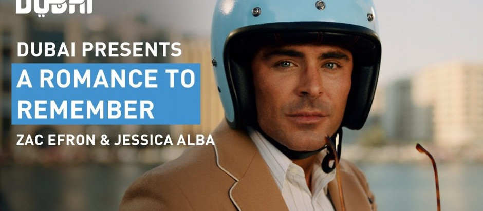 Dubai Tourism Launches 'ROMCOM' Trailer Starring Jessica Alba and Zac Efron