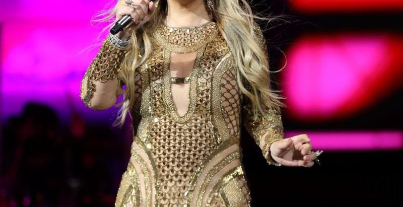 Mariah Carey spotted wearing a Dubai jewelry label High Street Jewelry at Expo 2020 Countdown Party