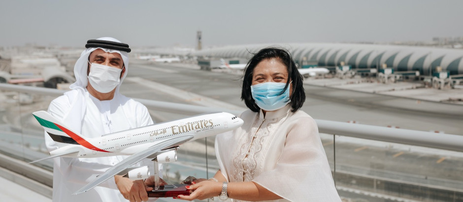 X|NEWS:   Emirates receives token of appreciation from Philippines Embassy in the UAE
