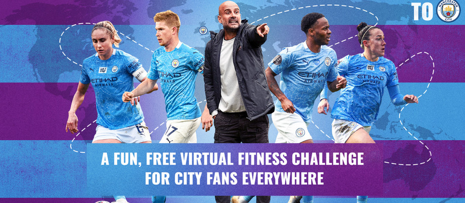 Manchester City and Nexen Tire announce a new virtual fitness challenge