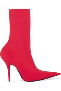 balenciaga-red-Knife-Spandex-Sock-Boots.