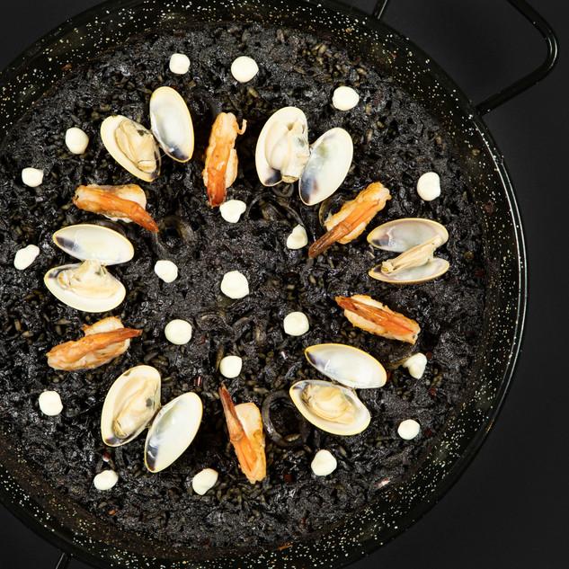 Paella Negra at Bebemos