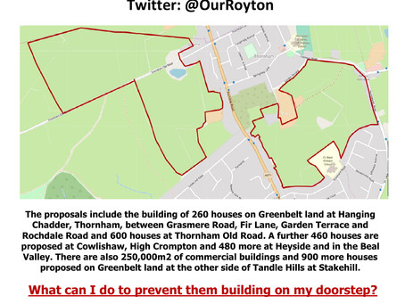 Protest Planned at Thornham St James Primary School on Thursday 7th February