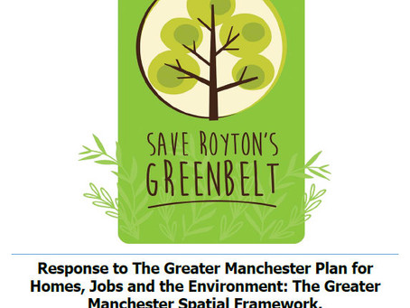Save Royton's Greenbelt appeal now available to download