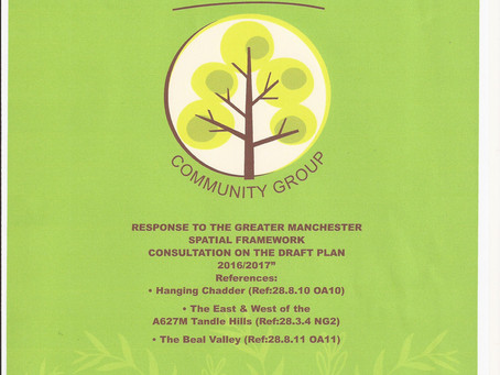 Save Royton's Greenbelt Submission to the GMSF.