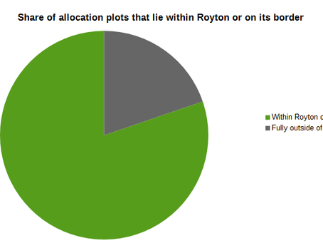 80 percent of all the building on the greenbelt will be in and around Royton