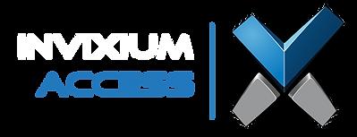 Invixium Access Logo Horizontal (Dark Ba