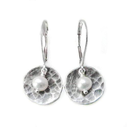 Patina Pearl Earrings