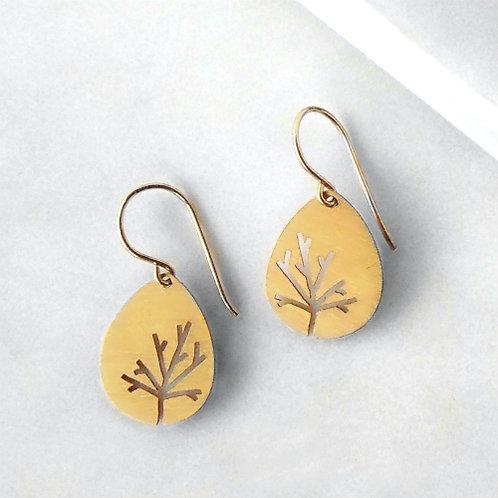 Silhouette Twig Earrings