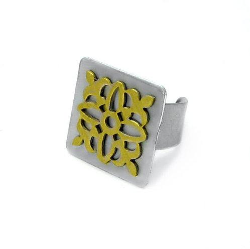 Layered Ornate Ring
