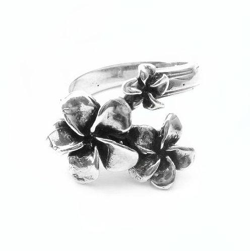Plumeria Ring