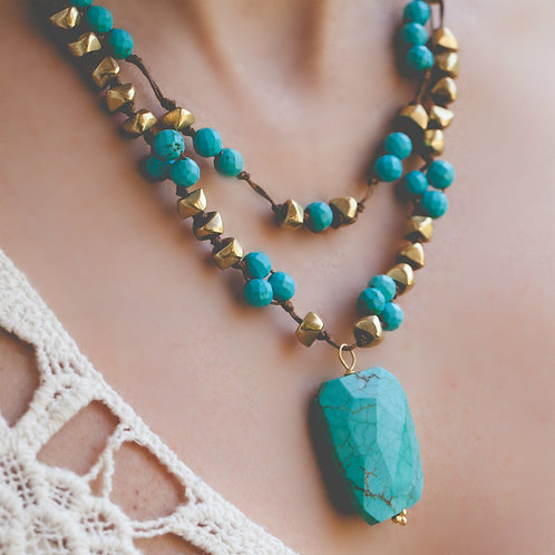 Hanna Turquoise Necklace