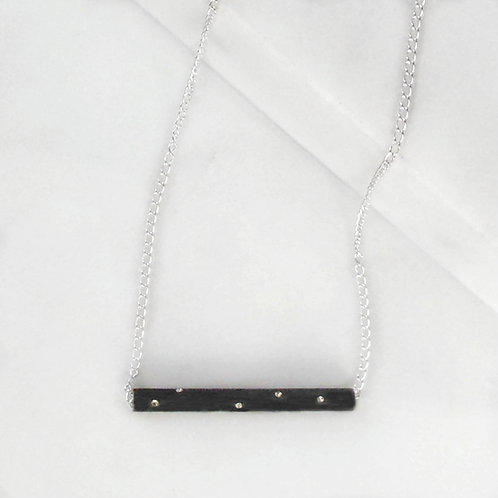 Starry Night Tube Necklace
