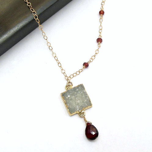 Garnet Fantasy Necklace
