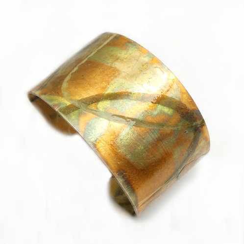 Parchment Cuff: Green Papaya