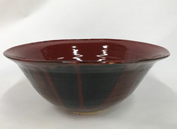 Red tapered Bowl