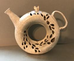 Cut Out Donut Teapot