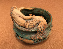 mermaid on bowl
