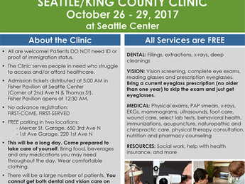 Seattle/King County Clinic is here!