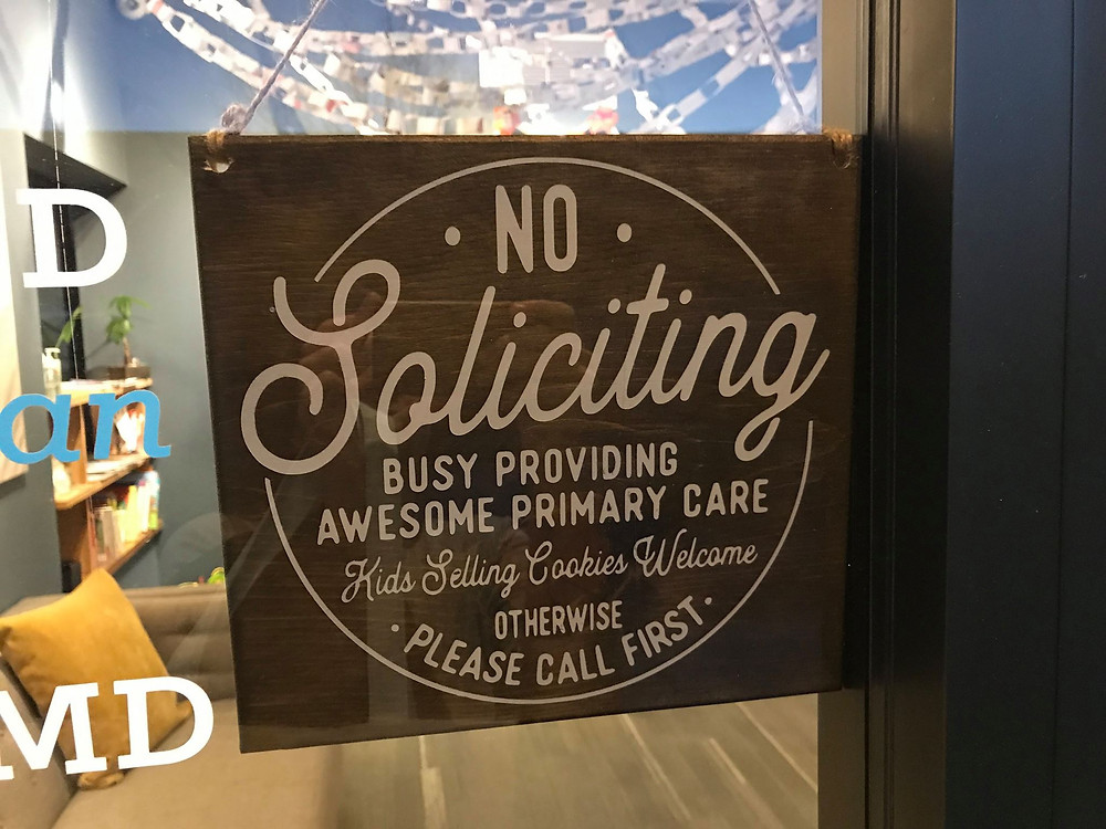 Awesome sign from Dr. Kylie Vannaman, Kansas City