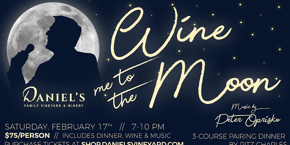 Wine Me to the Moon Pairing Dinner