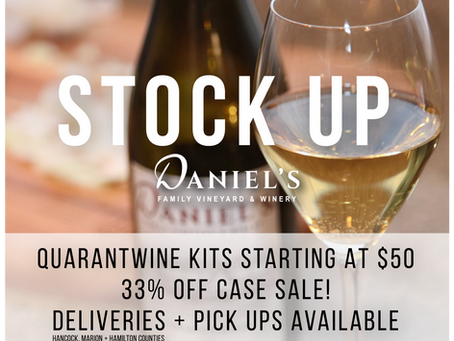 QuarantWine Kits are Here + Delivery + Case Sale!