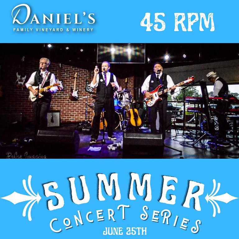 45 RPM: Summer Concert Series