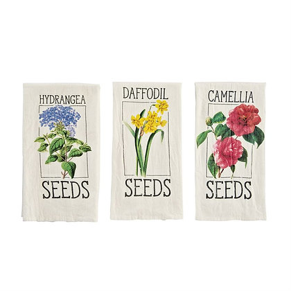 Flower Seed Towel
