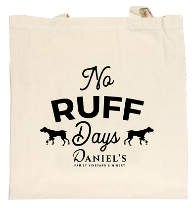 'No Ruff Days' Tote Bag