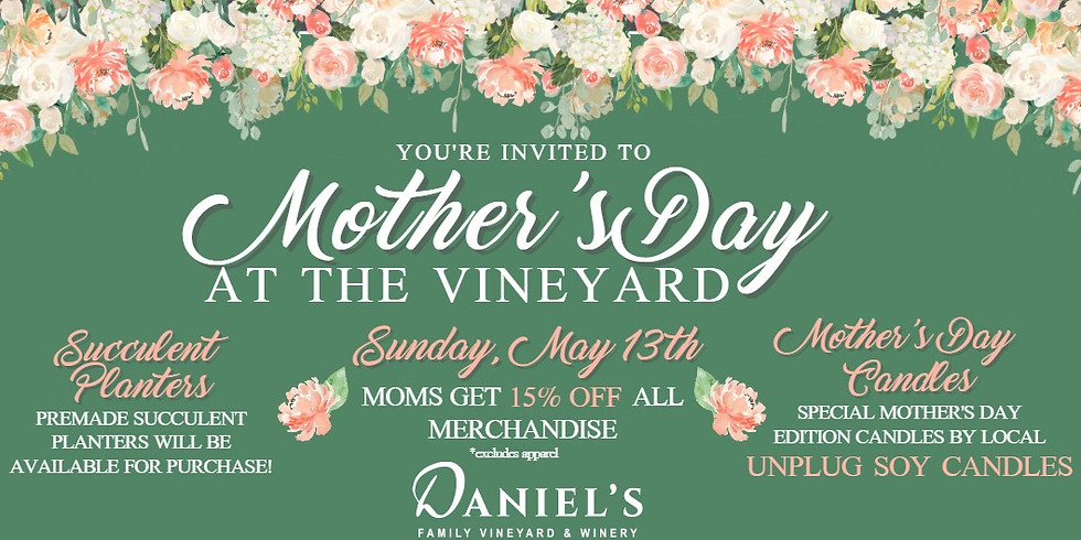 Mother's Day Gift Event!