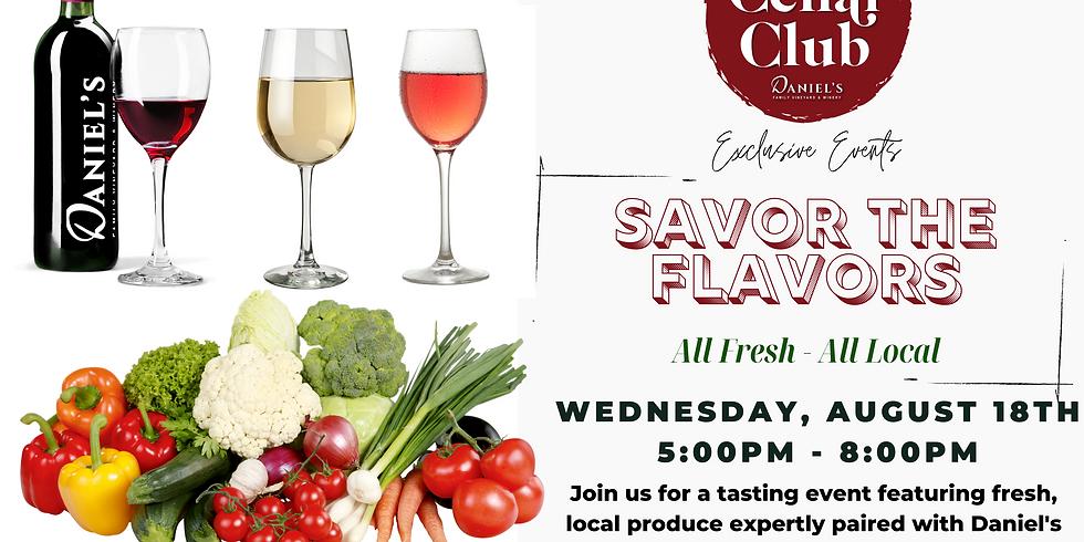 Cellar Club Exclusive Event - Savor the Flavors