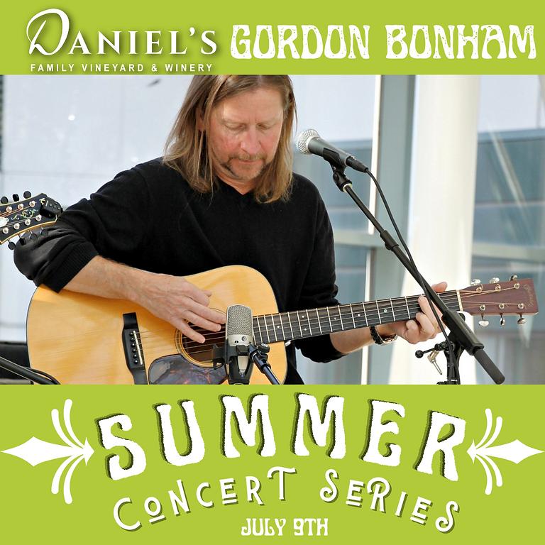 Gordon Bonham: Summer Concert Series