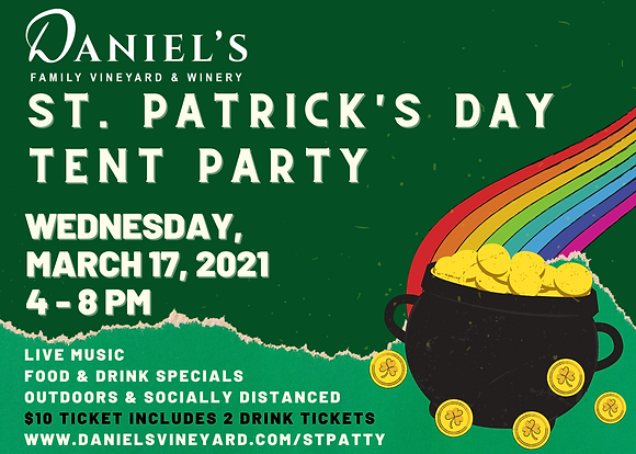 St. Patricks Day Tent Party