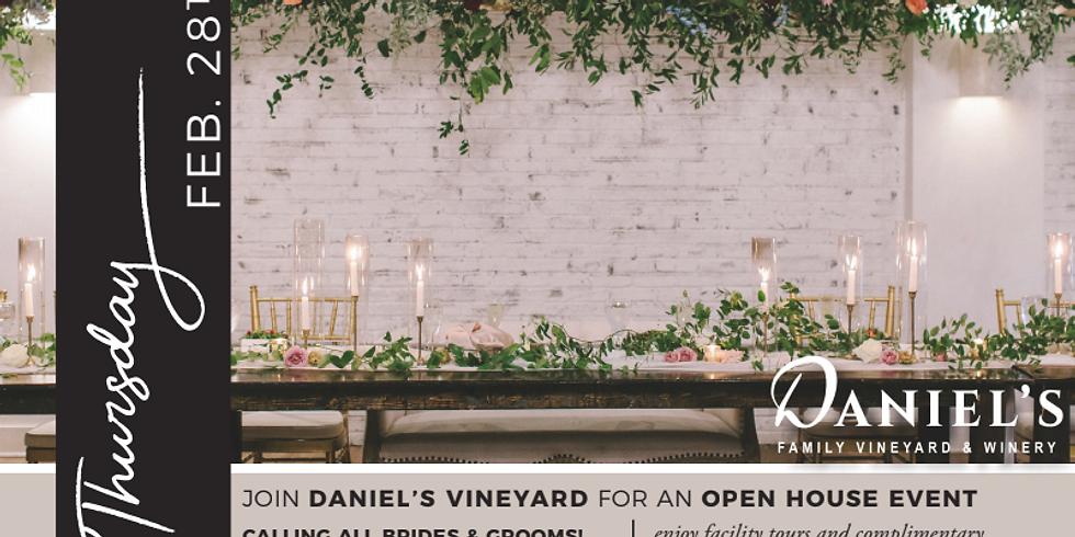 Daniel's Vineyard Bridal Open House