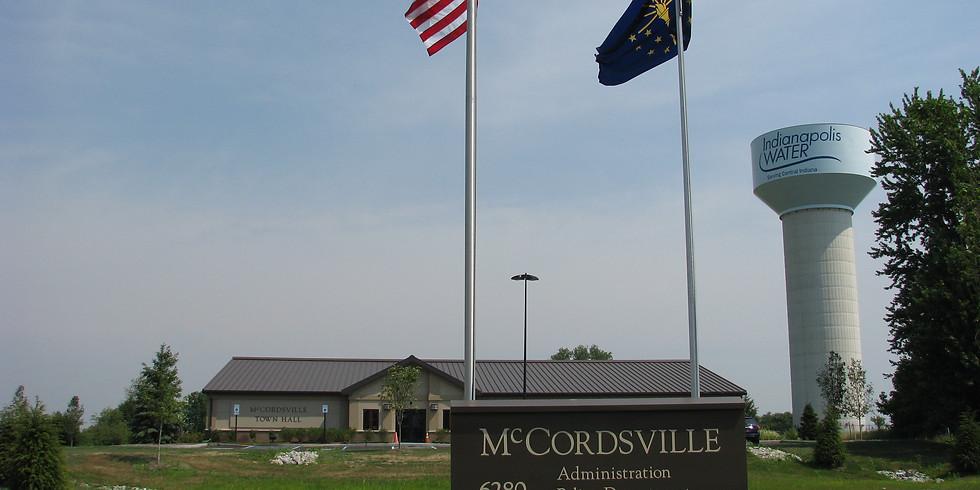 McCordsville Town Meeting