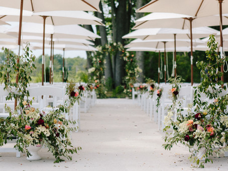 Outdoor Weddings - Worth the Stress?