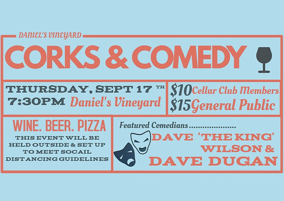 Corks & Comedy