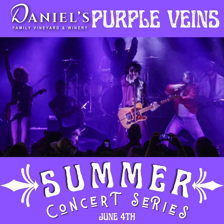 Purple Veins: Summer Concert Series