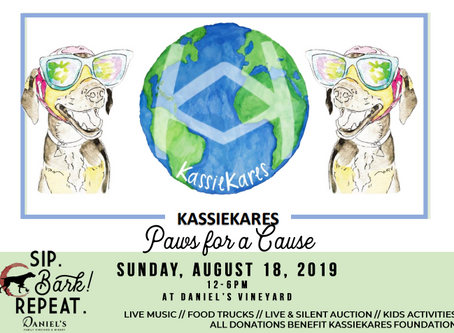 KassieKares: Paws for a Cause