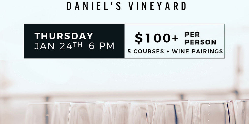 5 Course Wine Pairing Dinner  (1)