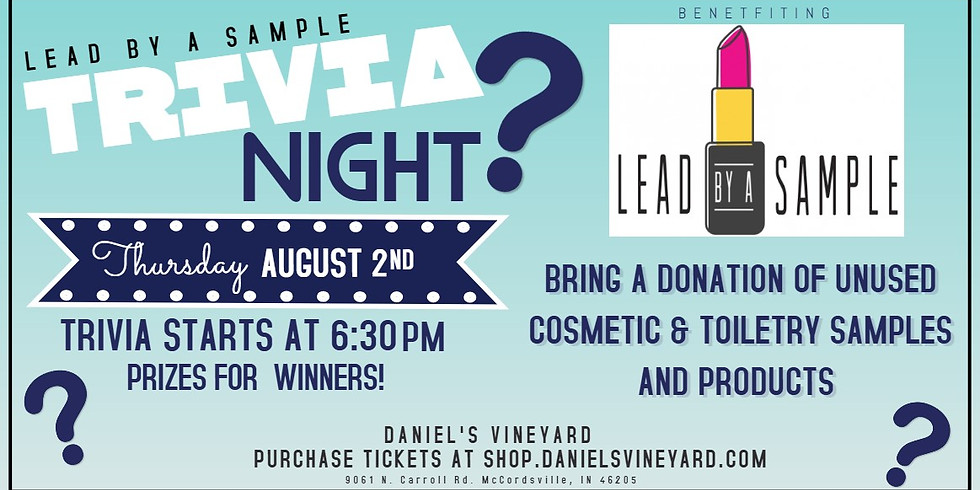 Trivia Night for Lead by a Sample! (1)