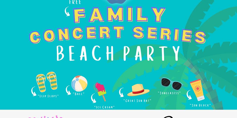 BeLocal Family Concert Series at Daniel's Vineyard - Beach Party!