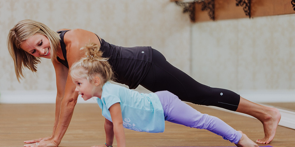 Mommy and Me Barre Class!
