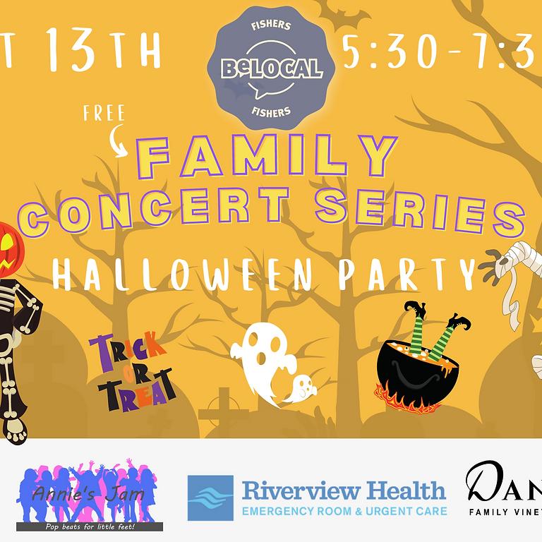 BeLocal Family Concert Series at Daniel's Vineyard - Halloween Bash
