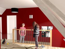 Perspective 3D intérieur