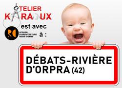 DEBATS-RIVIERE D'ORPRA
