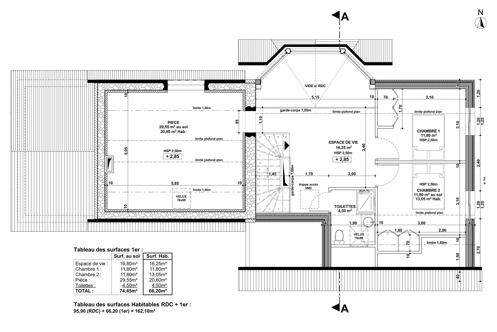 Plan 1er Etage