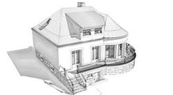 Perspective 3D extérieure - ESQ