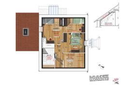 Plan d'Aménagement du 1er Etage